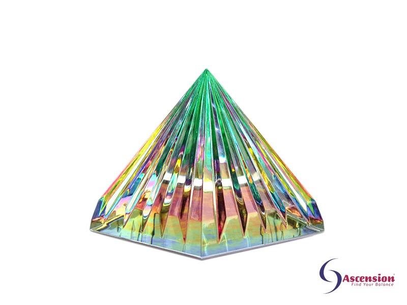 Geënergetiseerde groene piramide van Ascension