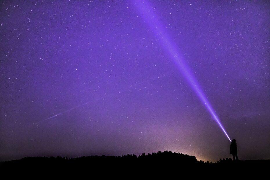 Saint Germain violet licht