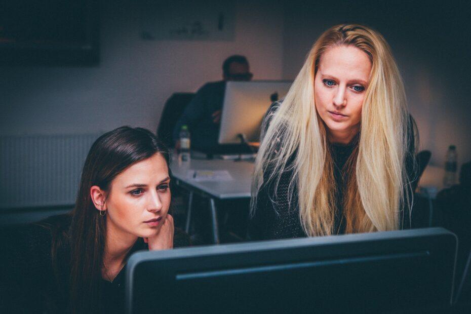 Vrouwen kantoor