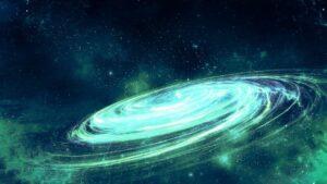 Galaxy draait