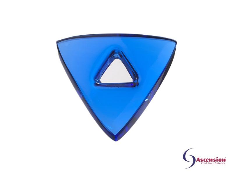 Blauwe light - straal 1 - geënergetiseerd glazen tool driehoek van Ascension