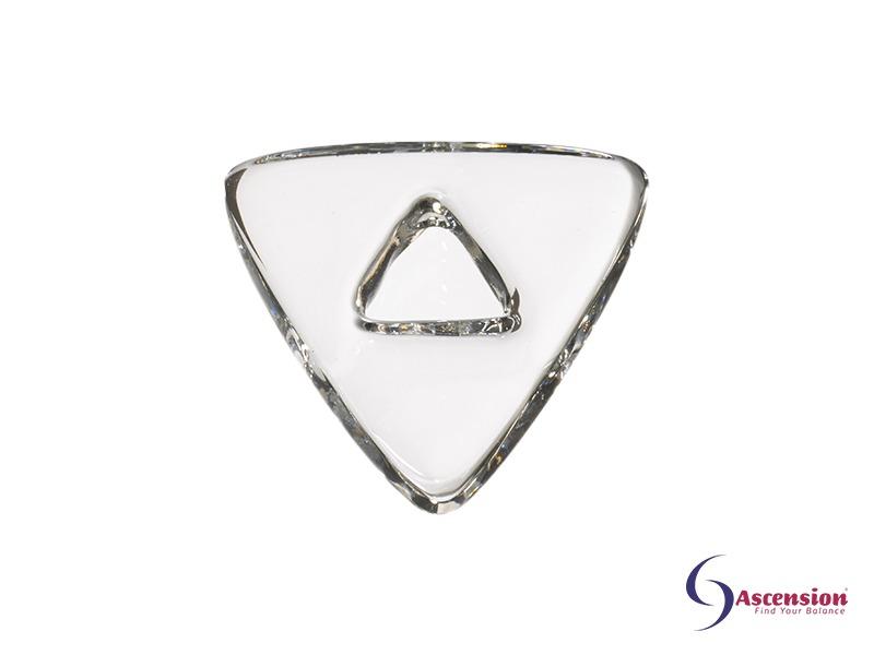 Heldere light - straal 4 - geënergetiseerd glazen tool driehoek van Ascension