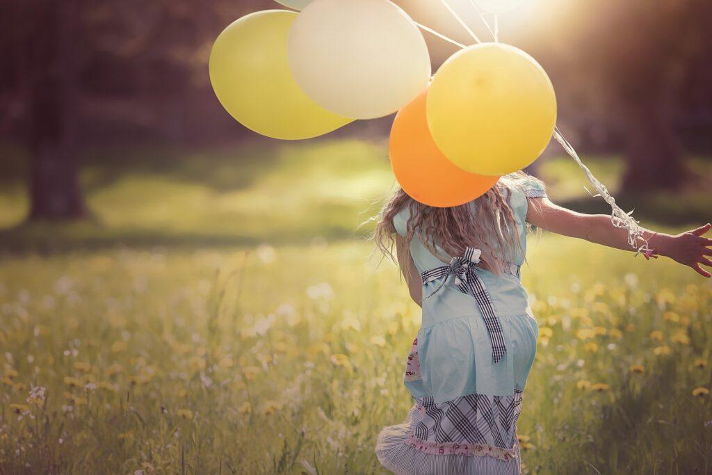 kind balonnen