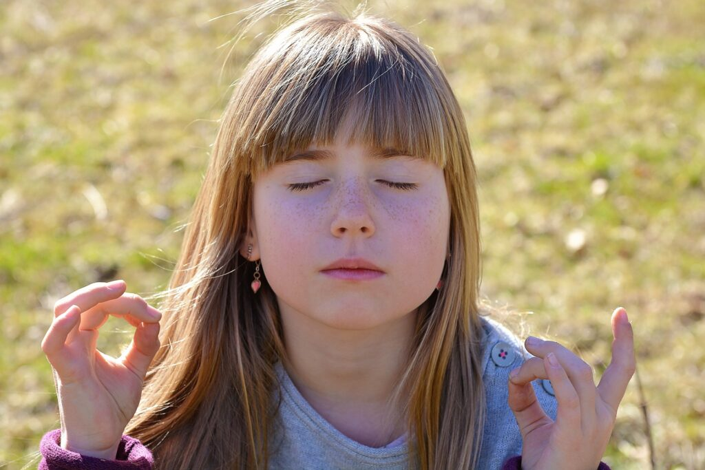 kind meditatie